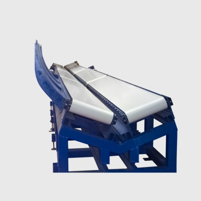 MOTORIZED BELT CONVEYOR FOR REEL
